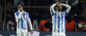 Joaquín apunta a Platini como responsable de la eliminación y Pellegrini carga contra la UEFA