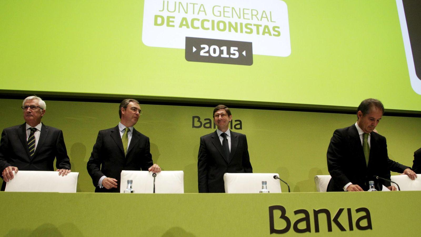 Foto: Junta general de accionistas de Bankia. (Reuters)