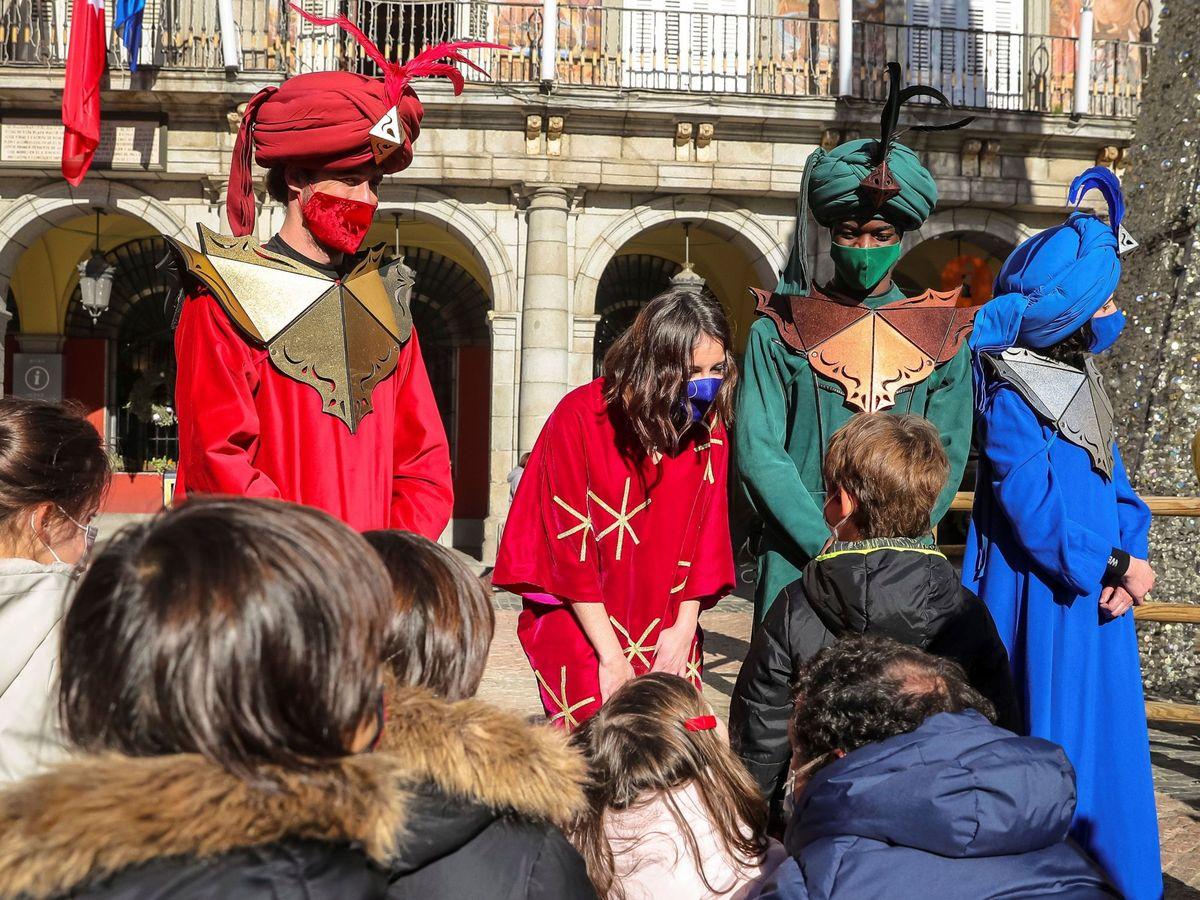 Foto: El Ayuntamiento de Madrid ha explicado cómo será la cabalgata de Reyes Magos este año. Foto: Efe