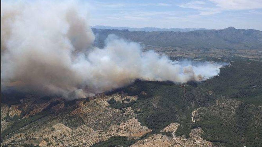 El incendio del Perelló (Tarragona) arrasa 200 hectáreas y obliga a evacuar a 32 vecinos
