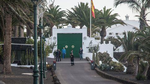 Los Sánchez en La Mareta: pantallas nuevas para evitar miradas indiscretas