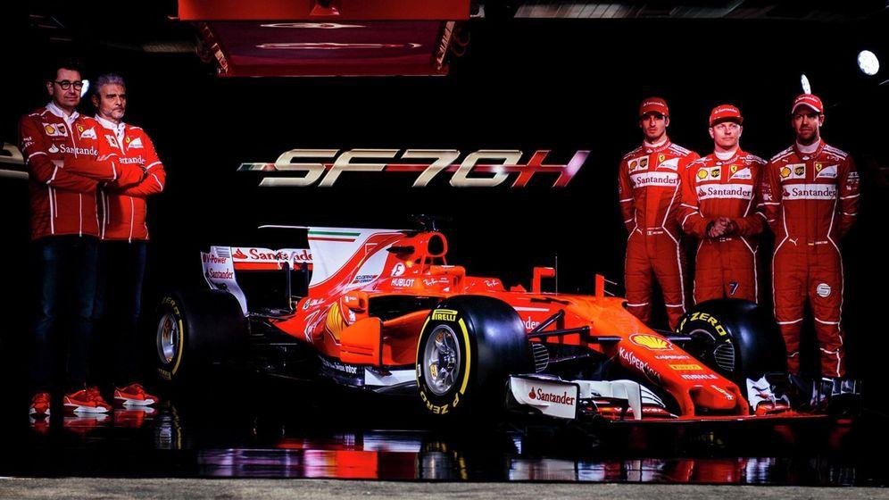 Foto: La última presentación de Ferrari en Maranello. (EFE)