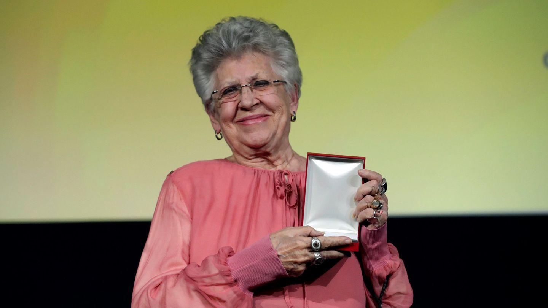 Pilar Bardem con la Medalla Honorífica CEC del Círculo de Escritores Cinematográficos. (EFE)