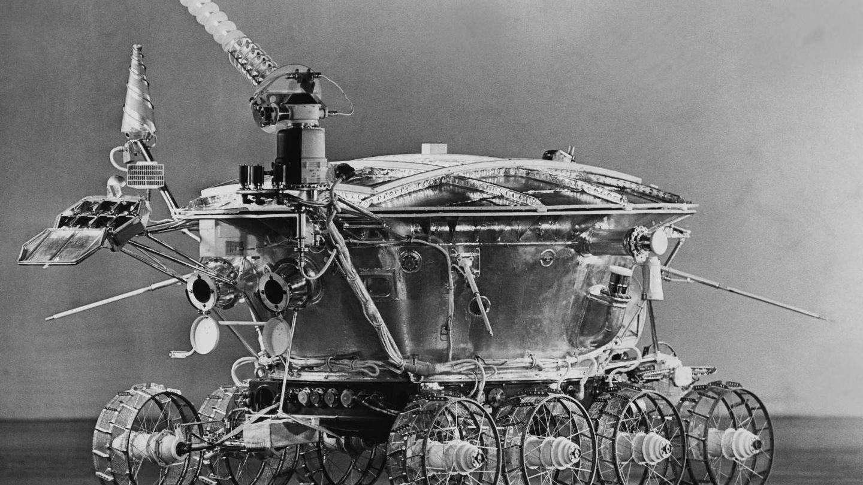 El primer rover lunar de la historia, el Lunojod 1 soviético (NASA)
