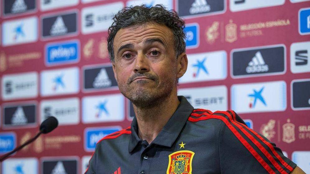 Foto: El seleccionador nacional, Luis Enrique Martínez. (EFE)