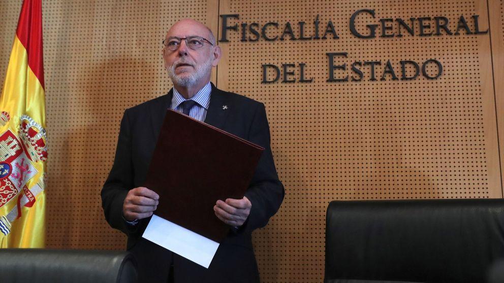 Más dura será la caída: el título de la nota de prensa de la Fiscalía
