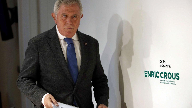 El histórico directivo del Grupo Damm Enric Crous, candidato a presidir la Cámara de Comercio de Barcelona. (EFE)