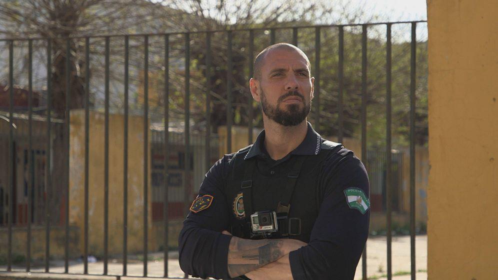 Foto: Álvaro Chacón, uno de los protagonistas de 'Héroes, más allá del deber'. (Mediaset)