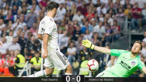 Con Asensio y Vinicius se le cayó la dentadura postiza al Madrid en el derbi