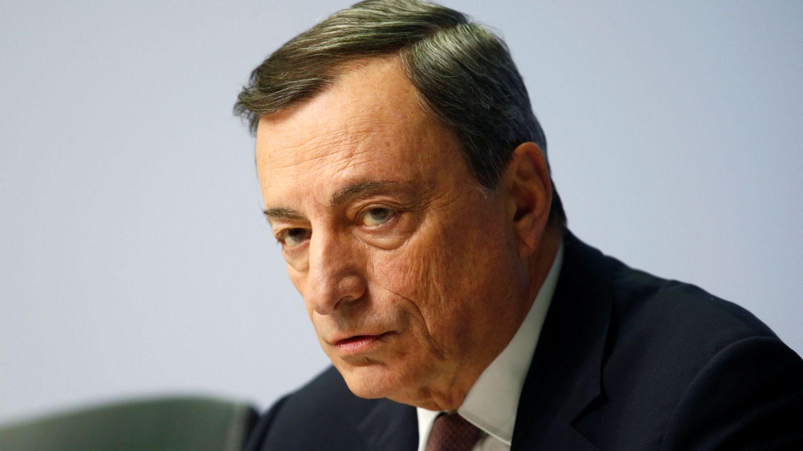Foto: El presidente del Banco Central Europeo (BCE), Mario Draghi (Reuters)