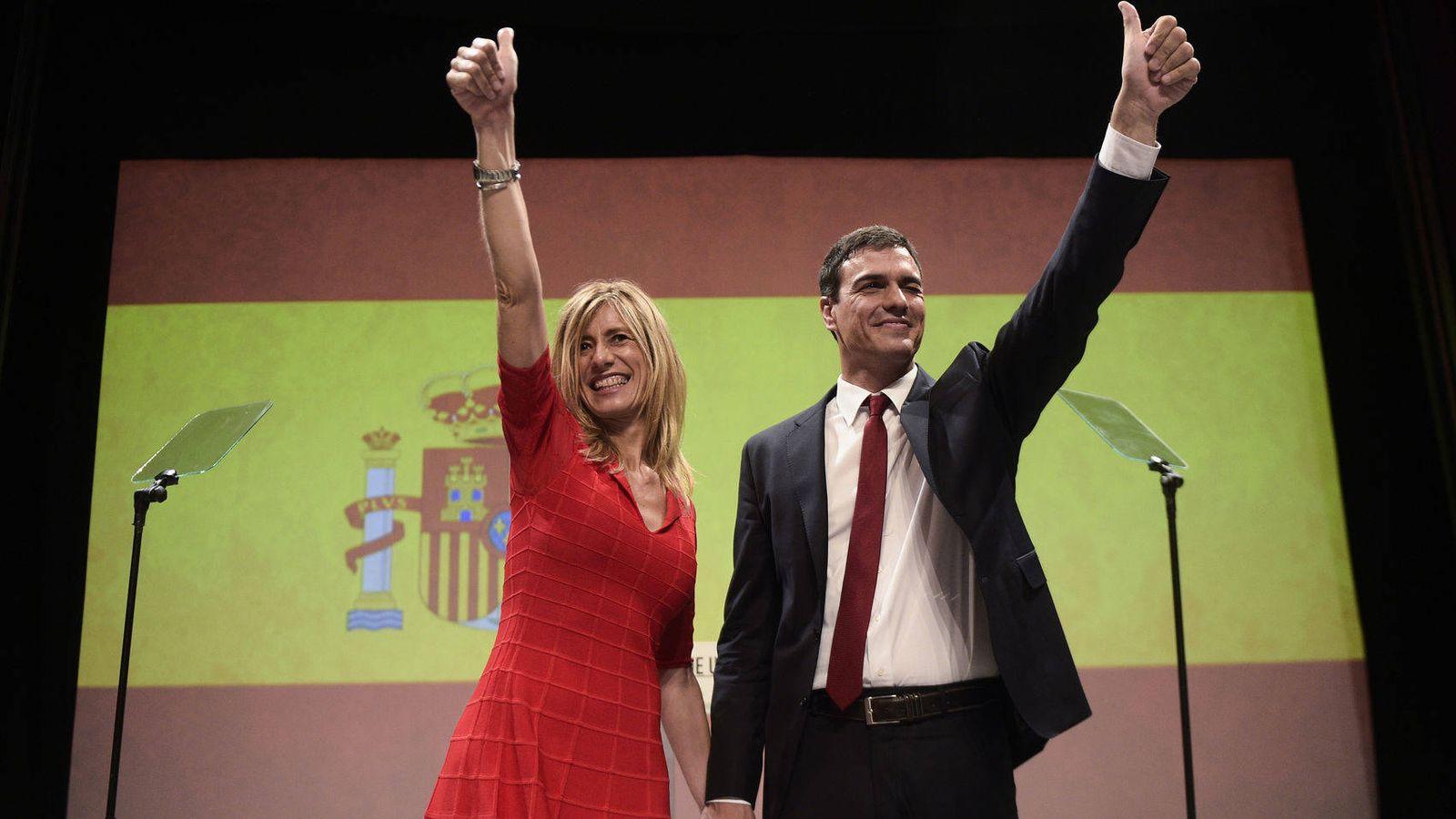 Foto: Pedro Sánchez y Begoña Gómez. (Gtres)