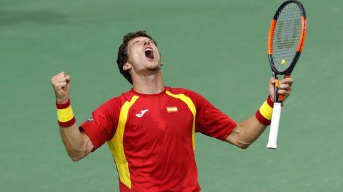 Bautista y Carreño salvan la cara de España en la Copa Davis
