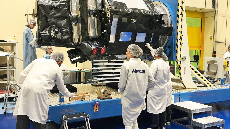 El satélite ya terminado el pasado 18 de junio (Airbus DS)