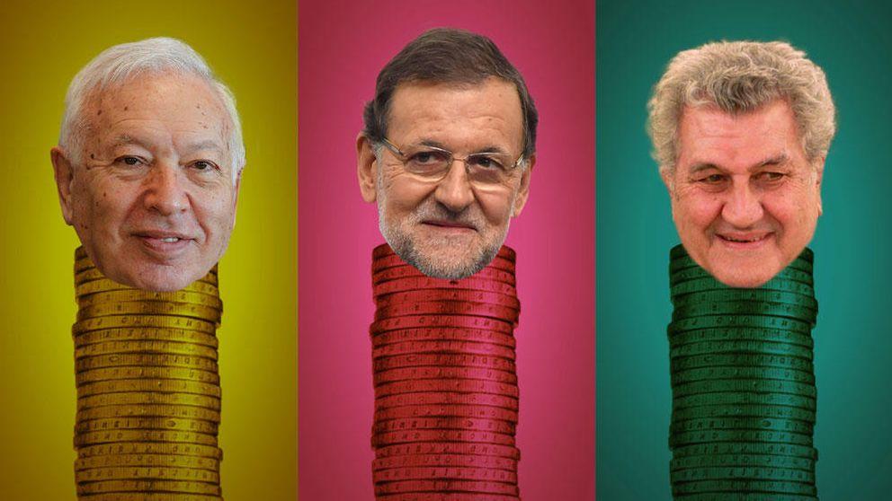 Rajoy, Margallo, Posadas… inversiones más curiosas de nuestros políticos