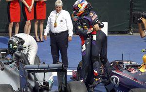 Los gestos de Sebastian Vettel que Ricciardo ya no olvidará en su vida