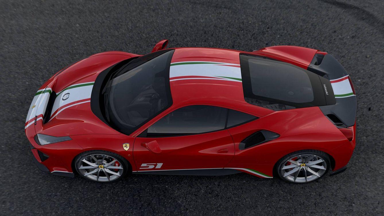 Ferrari 488 Pista, una versión de homenaje a las 24 Horas de Le Mans