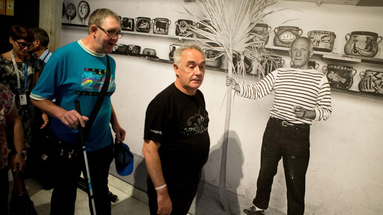 Ferran Adrià, en la exposición 'La cocina de Picasso'. (EFE)