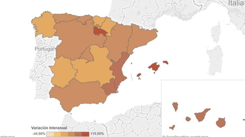 El mapa de la precariedad juvenil: contratos de prácticas y temporales