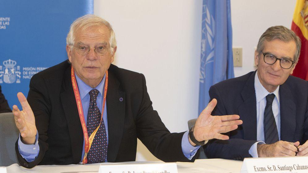 Foto: El ministro español de Asuntos Exteriores, Josep Borrell. (EFE)
