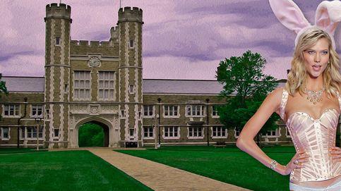 Una 'conejita' en el campus: Karlie Kloss, de la lencería a la universidad