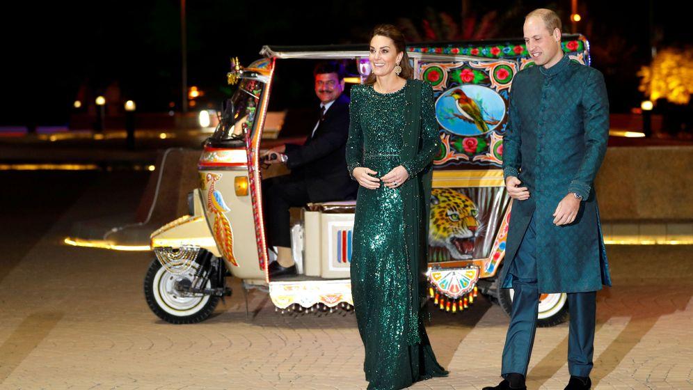 Foto: Los duques, llegando a la recepción. (Reuters)