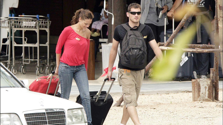 Iker y Eva González en 2007.