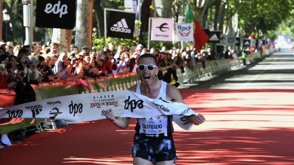 Foto: Carles Castillejo ganó la media maratón de Madrid el pasado mes de abril