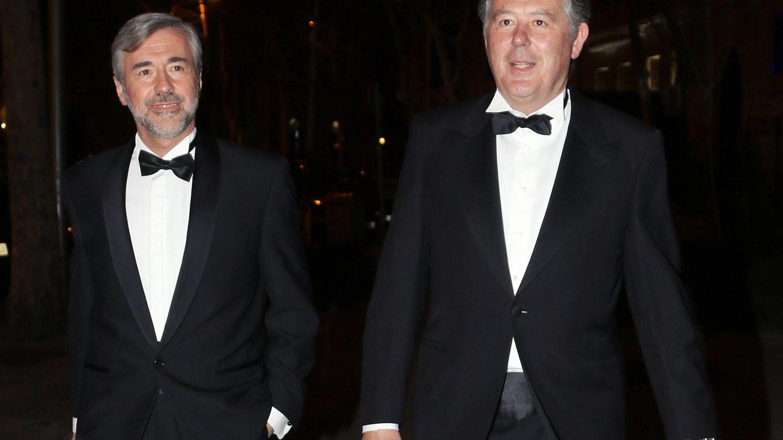 José María Michavila y Ángelñ Acebes.(Gtres)