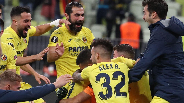 El Villarreal conquista la Europa League con el fallo de penalti de De Gea (1-1)