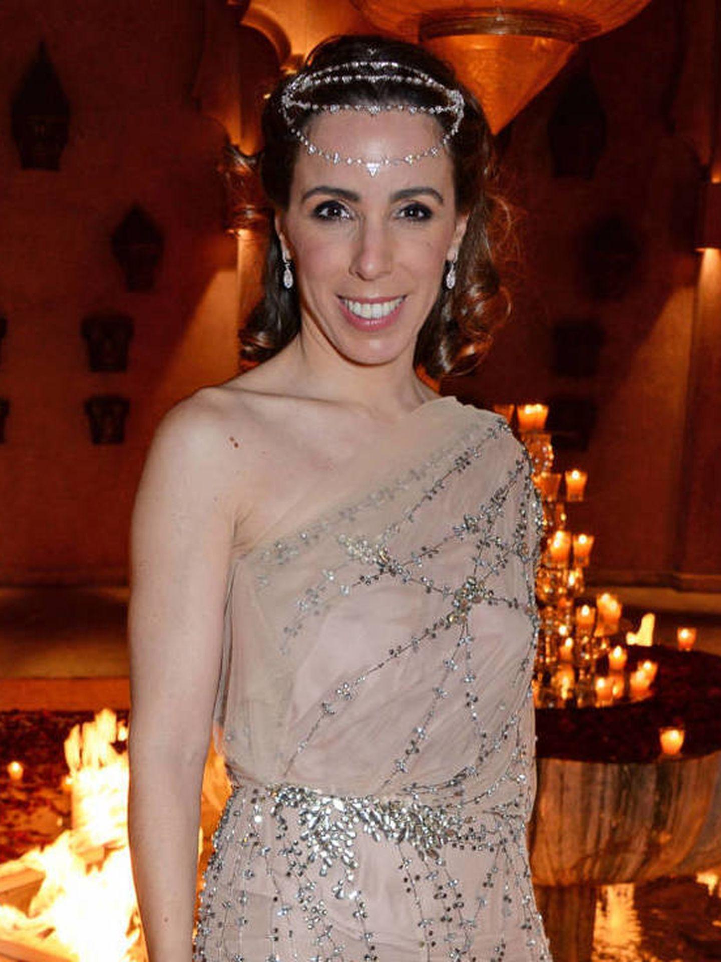 Ana Aznar, en la fiesta de 'Las mil y una noches'. (Getty)
