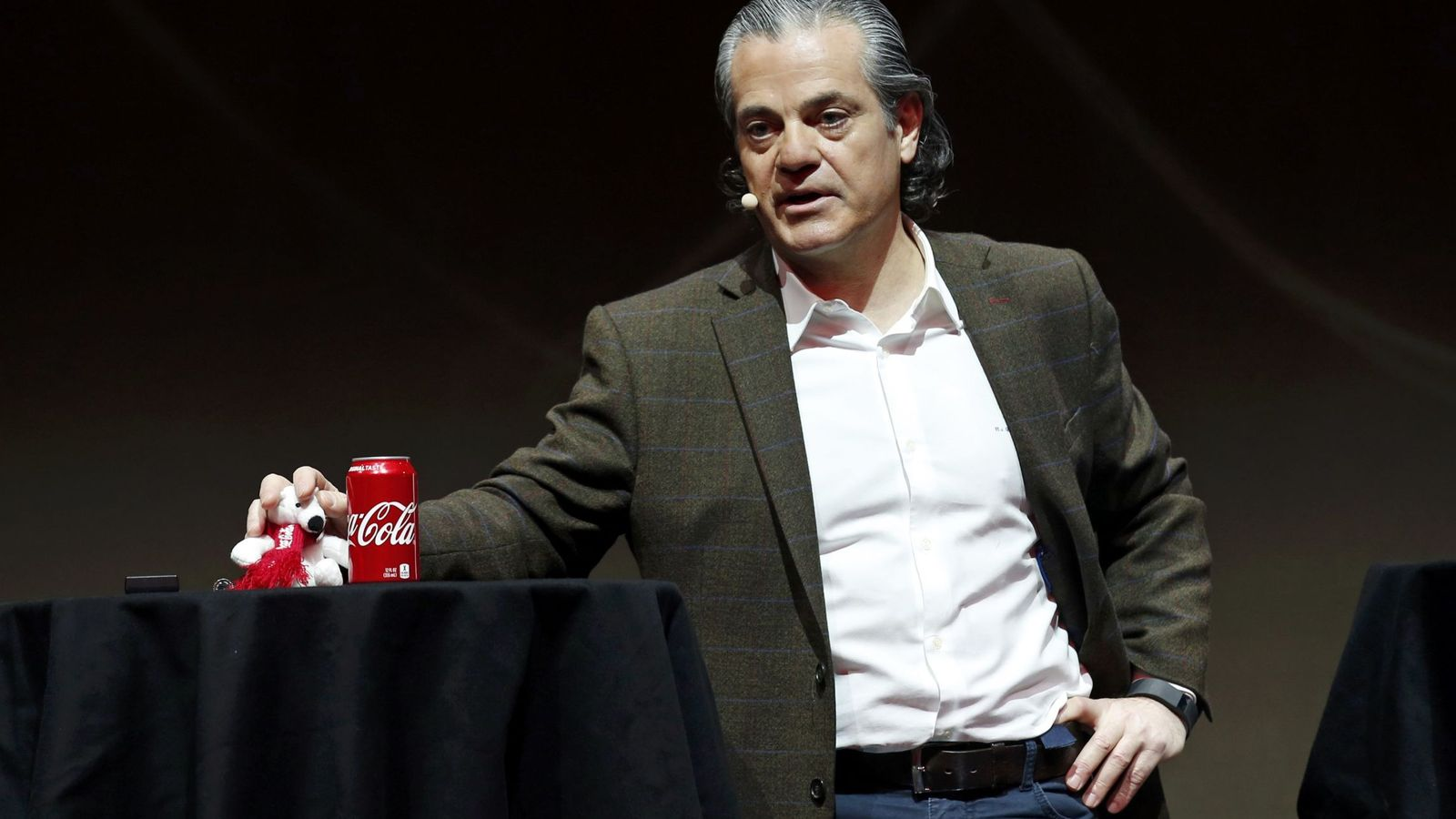 Foto: El presidente de Coca-Cola, Marcos de Quinto. (Reuters)