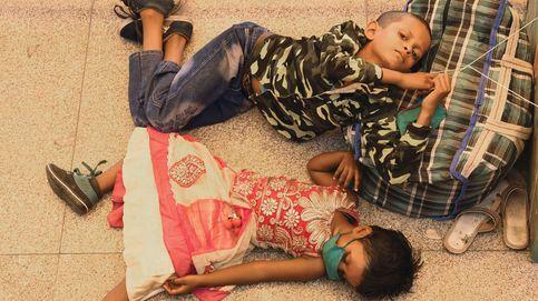Los trabajadores migrantes se van a sus estados de origen desde Nueva Delhi