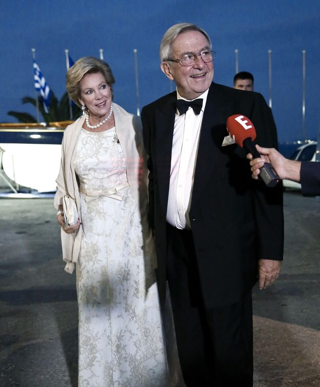 Foto: Constantino de Grecia y Ana María en una imagen de archivo (Gtres)