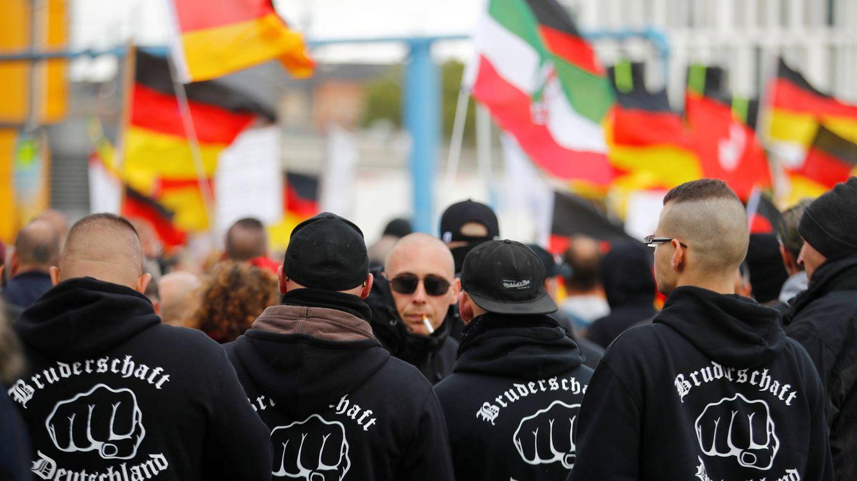 Foto: Manifestación ultra en Berlín el pasado 3 de octubre. (Reuters)