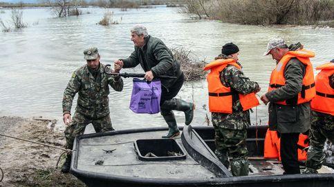 Inundaciones en el norte de Albania