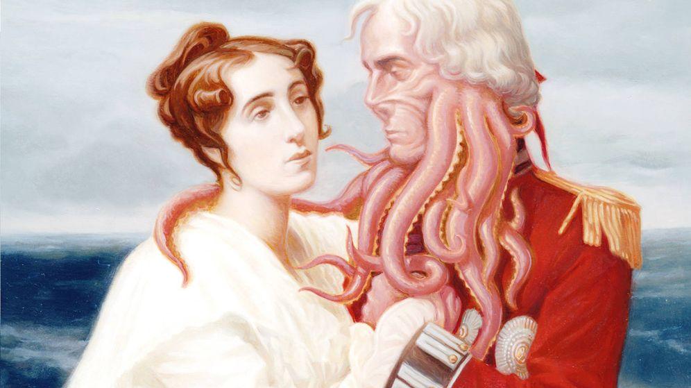 Foto: Detalle de portada de 'Sentido, sensibilidad y monstruos marinos'. (Umbriel)