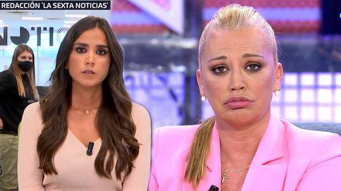 Belén Esteban se cuela en las noticias de La Sexta para apoyar la campaña 'Viva El Rey'