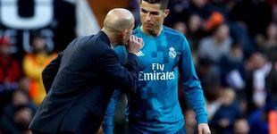 Post de Zidane ya solo se fía de los titulares para aguantar de pie hasta final de temporada