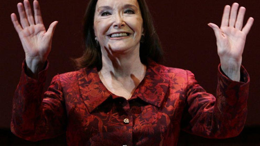 Nuria Espert: Le he dado al teatro toda mi alma, mi entrega absoluta