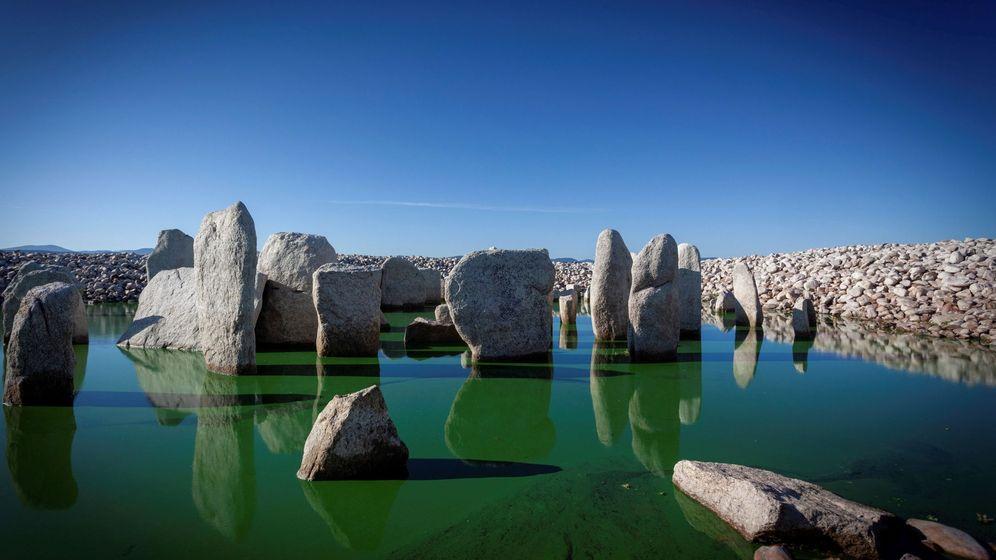 Foto: El conjunto megalítico de Guadalperal: entre el agua y la tierra. (EFE)