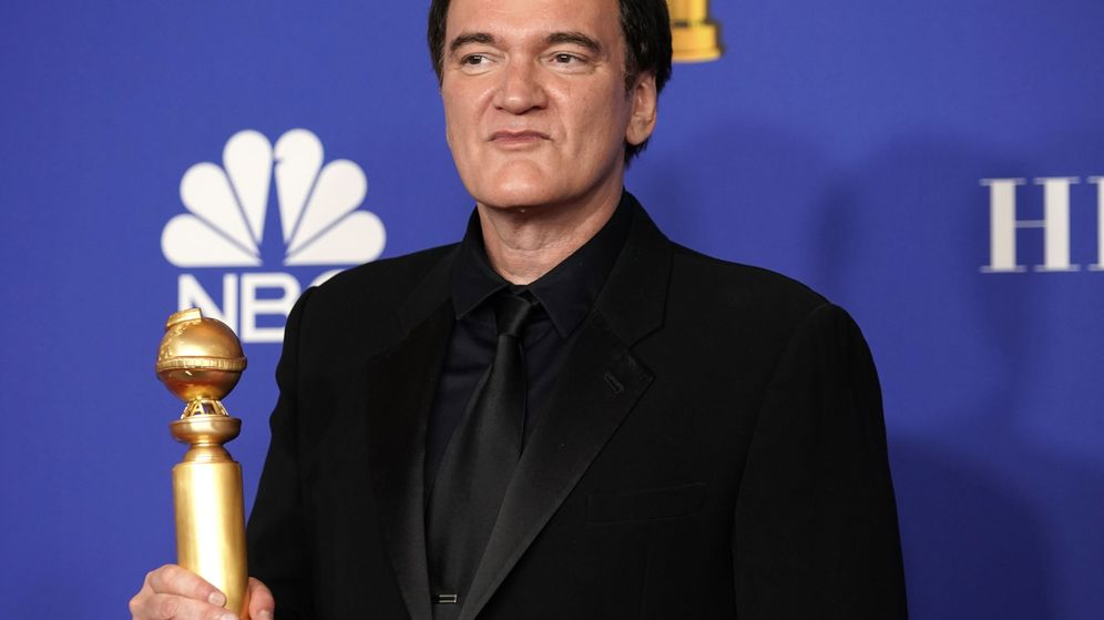 Foto: Tarantino ha ganado el Globo de Oro a Mejor comedia y Mejor guión. (Reuters)