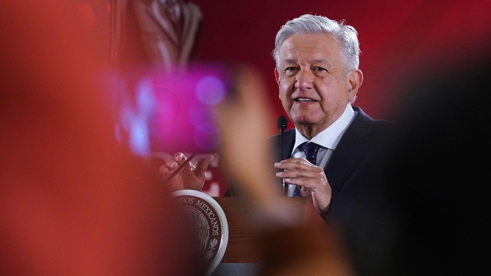Foto: Andrés Manuel López Obrador, presidente de México.