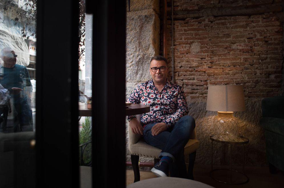 Foto: Jorge Javier Vázquez durante la entrevista (Foto: Pablo López Learte)