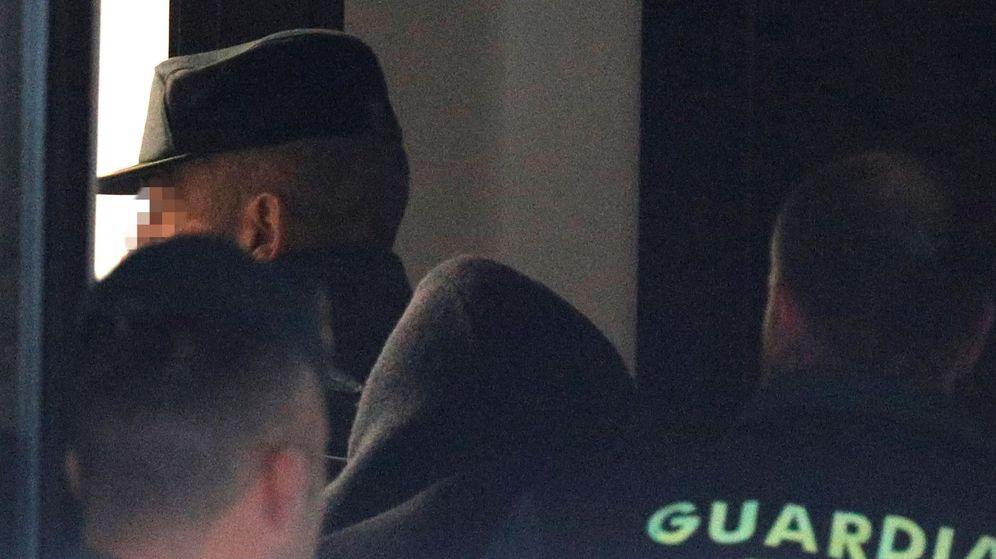 Foto: El Chicle a su llegada al juzgado. (EFE)