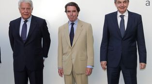 Felipe separado, Aznar separatista