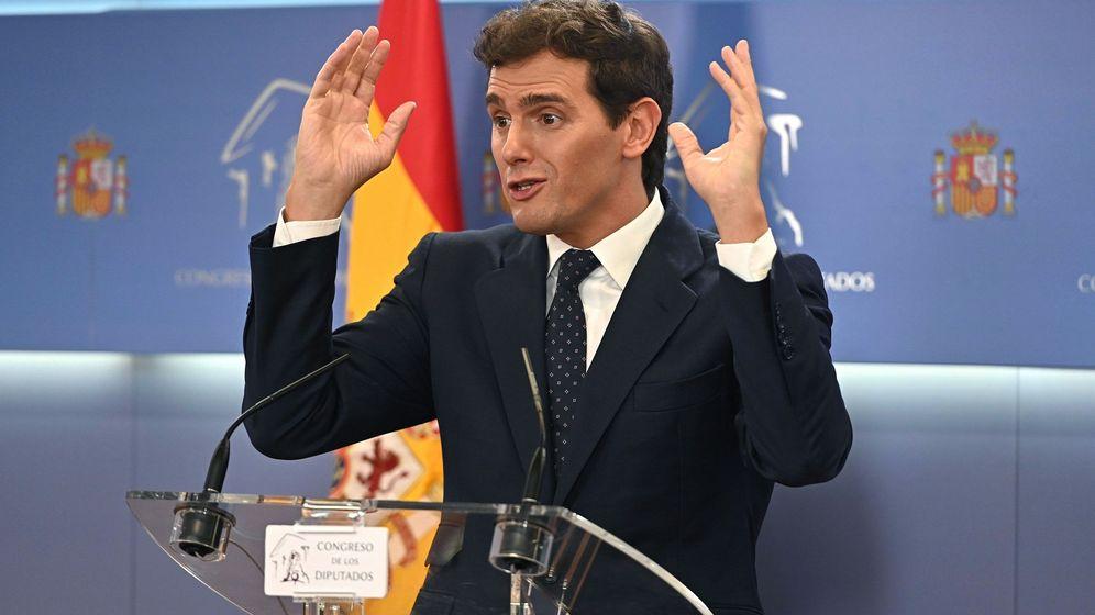 Foto: Albert Rivera, en el Congreso. (EFE)