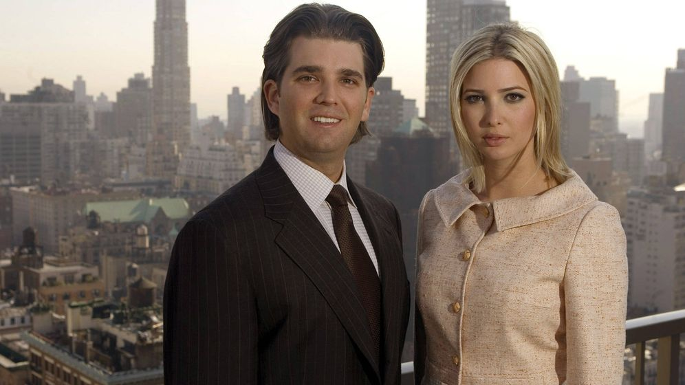 Foto: Donald Jr. e Ivanka Trump