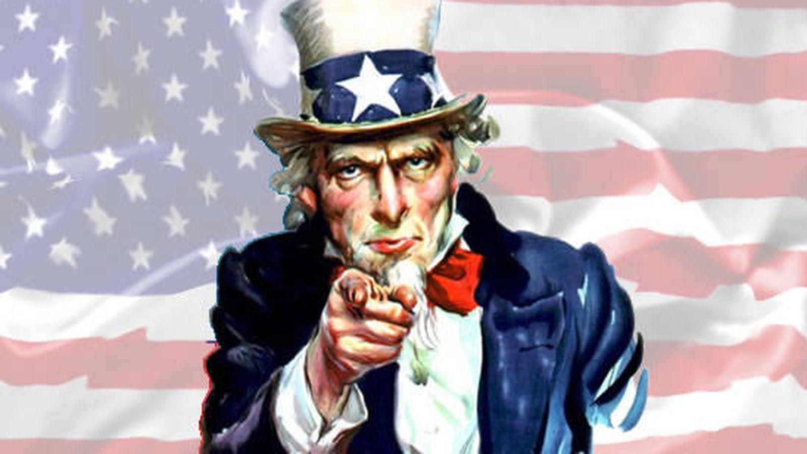 """Foto: """"¿Cuánto sabes de la historia de Estados Unidos?"""", pregunta el tío Sam"""