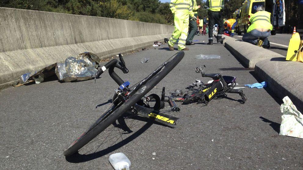 Muere un ciclista tras ser atropellado por un coche en Páramo del Sil, León