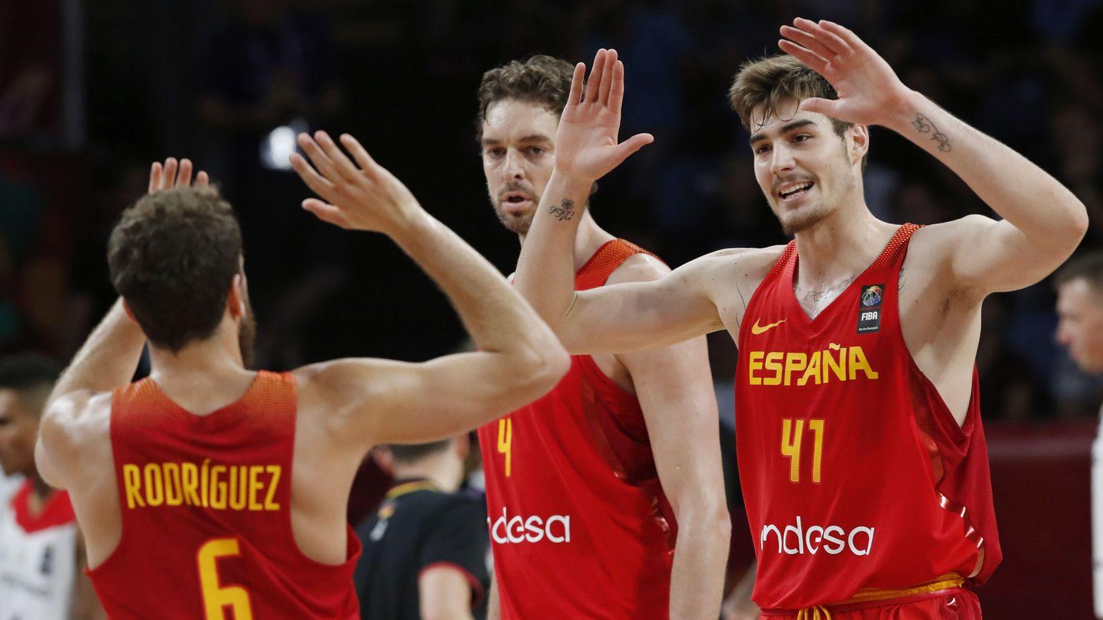 Foto: España jugará su décima semifinal seguida del EuroBasket. (EFE)